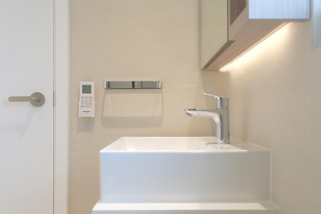 泓都, Studio Roof, 簡約, 北歐, 浴室, 私家樓, Tap, Indoors, Interior Design