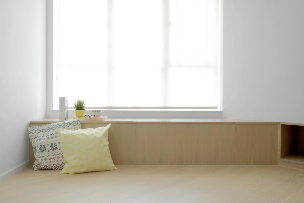 簡約, 私家樓, 睡房, 黃埔花園, 室內設計師, Studio Roof, Indoors, Interior Design, Room