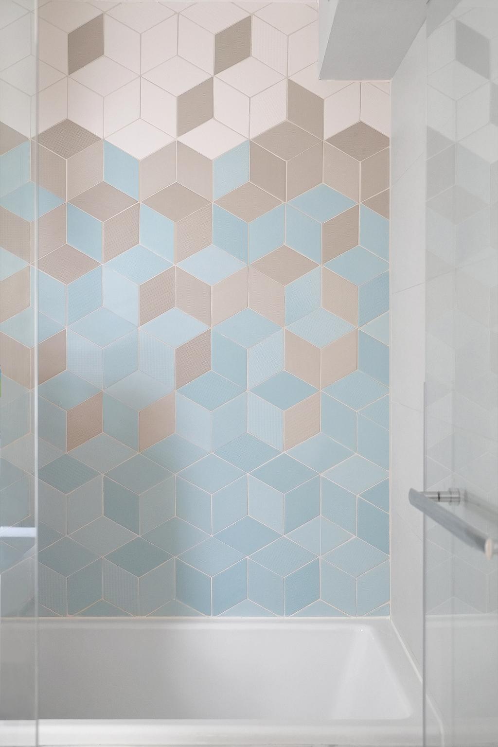簡約, 私家樓, 浴室, 黃埔花園, 室內設計師, Studio Roof, Tile