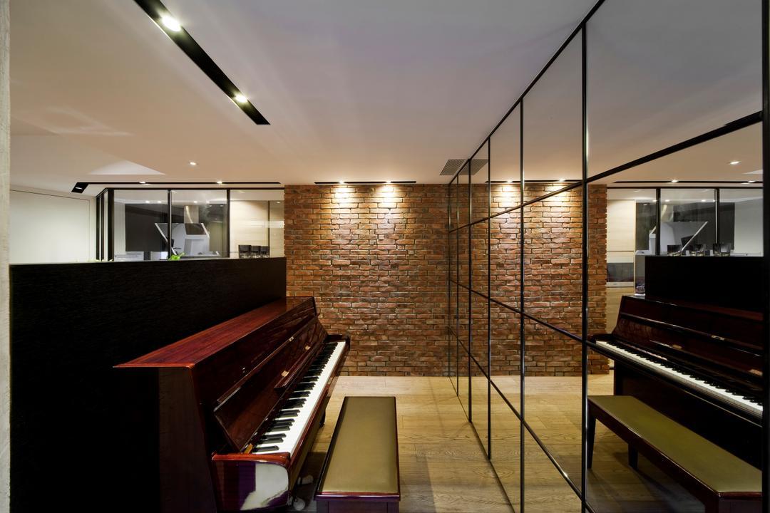 干德道, Deco Farmer Studio, 工業, 書房, 私家樓, Grand Piano, Leisure Activities, Music, Musical Instrument, Piano, Upright Piano