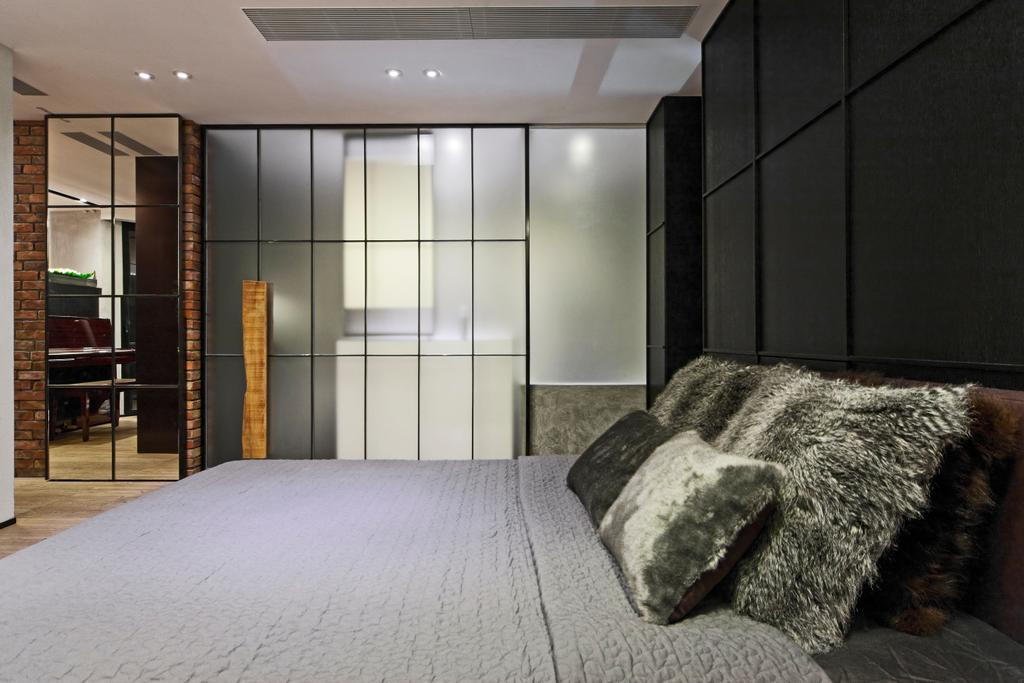 工業, 私家樓, 睡房, 干德道, 室內設計師, Deco Farmer Studio, Indoors, Interior Design, Room