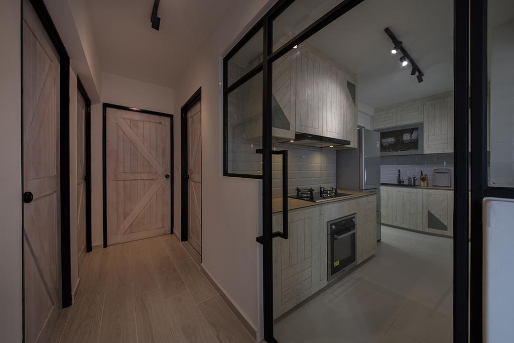 Minimalistic, HDB, Kitchen, Clementi Ridges (Block 312C), Interior Designer, Aart Boxx Interior, Appliance, Electrical Device, Oven
