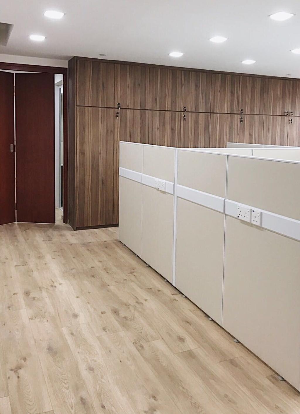 OKIO Office Space, Commercial, Interior Designer, Aart Boxx Interior, Contemporary, Flooring