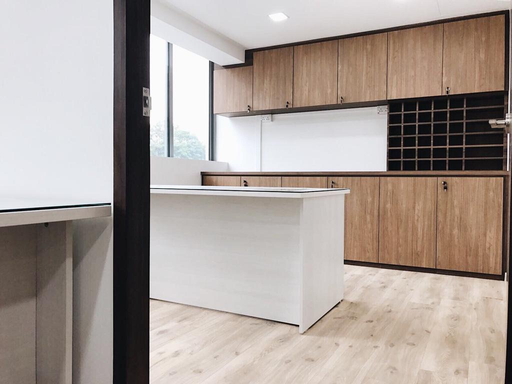 OKIO Office Space, Commercial, Interior Designer, Aart Boxx Interior, Contemporary