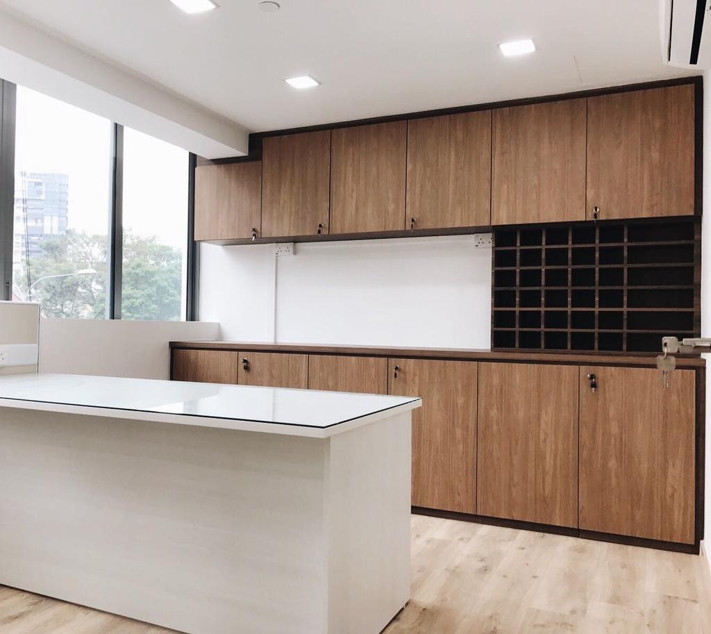 OKIO Office Space, Commercial, Interior Designer, Aart Boxx Interior, Contemporary, Indoors, Interior Design