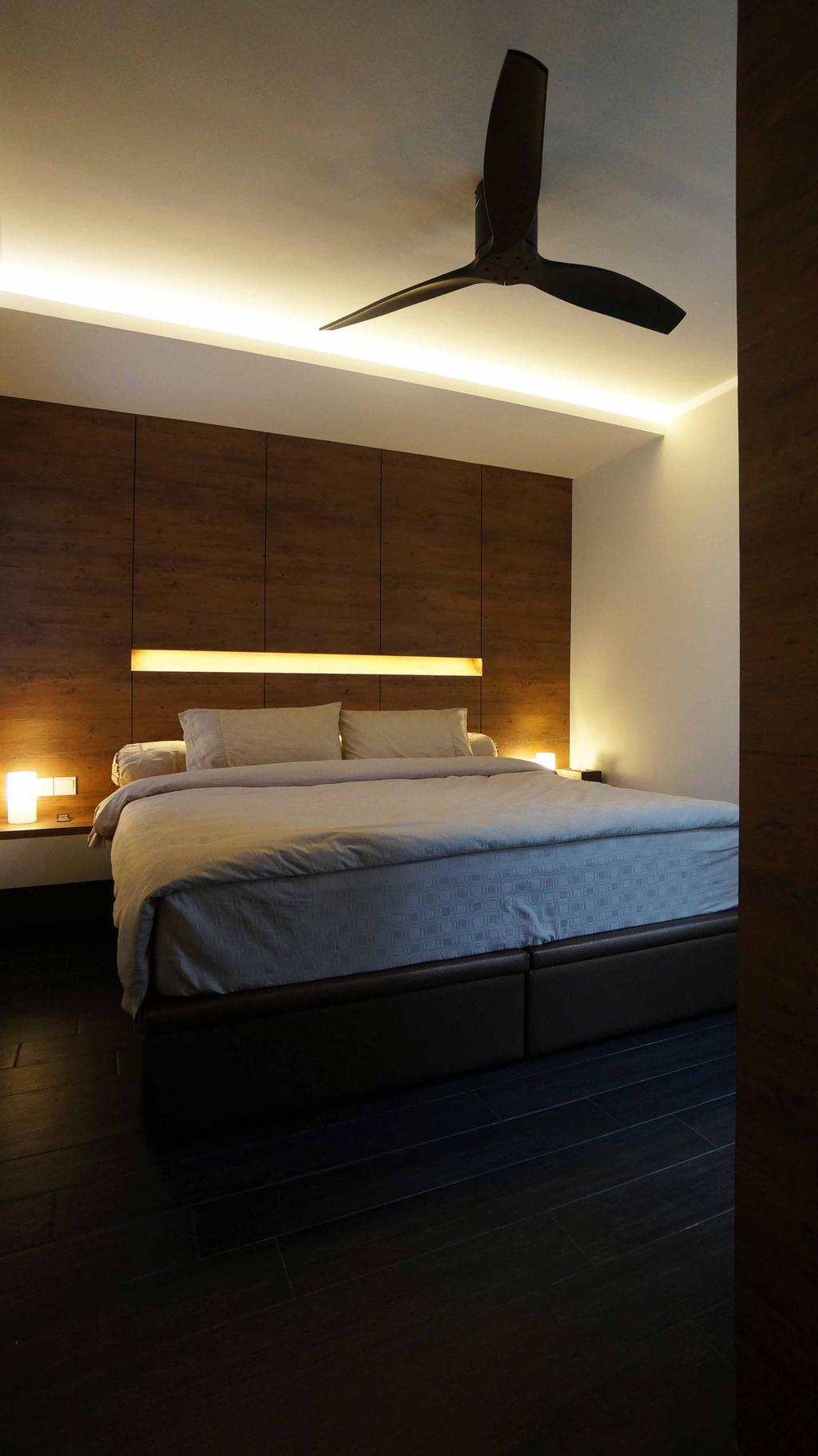 Contemporary, HDB, Bedroom, Cantonment Close, Interior Designer, Space Atelier
