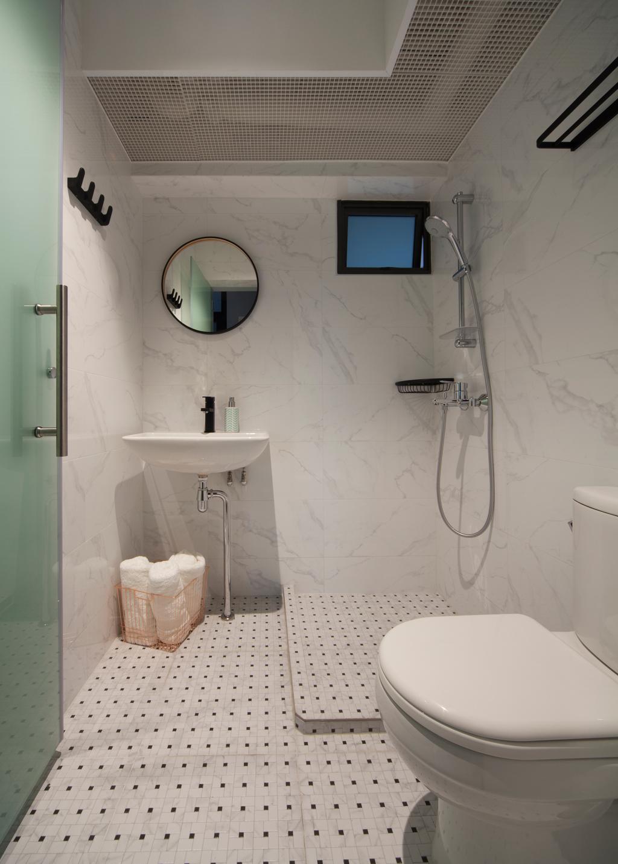 Eclectic, HDB, Bathroom, Skyville@Dawson (Block 87), Interior Designer, The Scientist, Indoors, Interior Design, Room