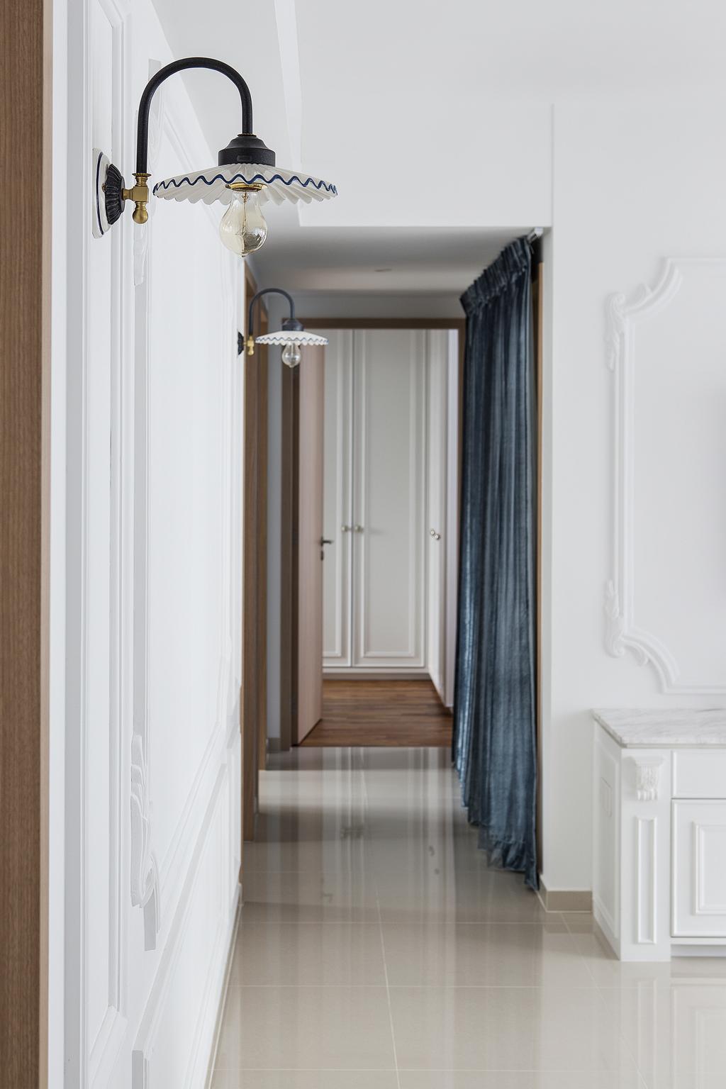 Vintage, Condo, Twin Fountains, Interior Designer, The Scientist, Door, Folding Door