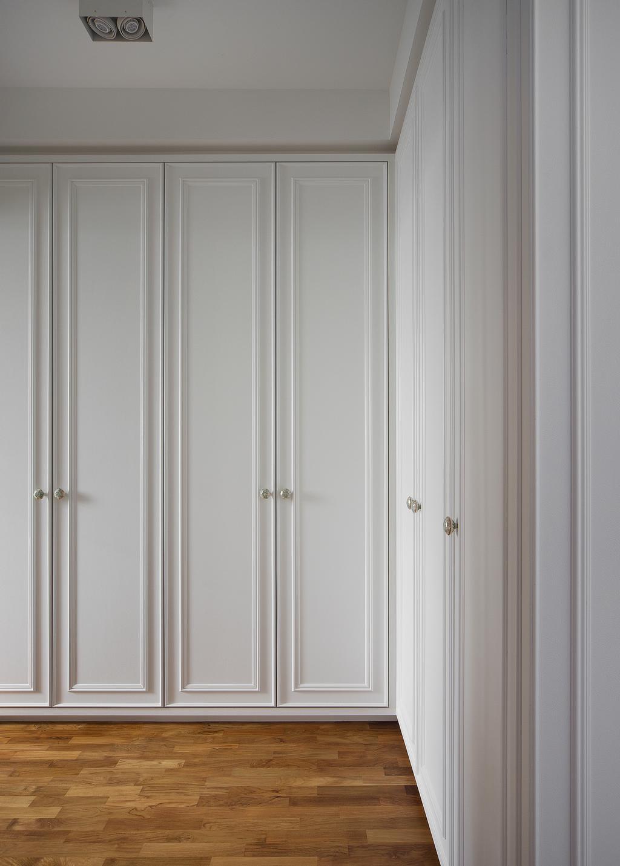 Vintage, Condo, Bedroom, Twin Fountains, Interior Designer, The Scientist, Door, Folding Door