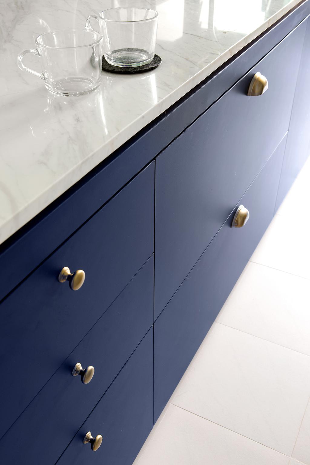 Eclectic, HDB, Kitchen, Bendemeer Light, Interior Designer, The Scientist, Drawer, Furniture