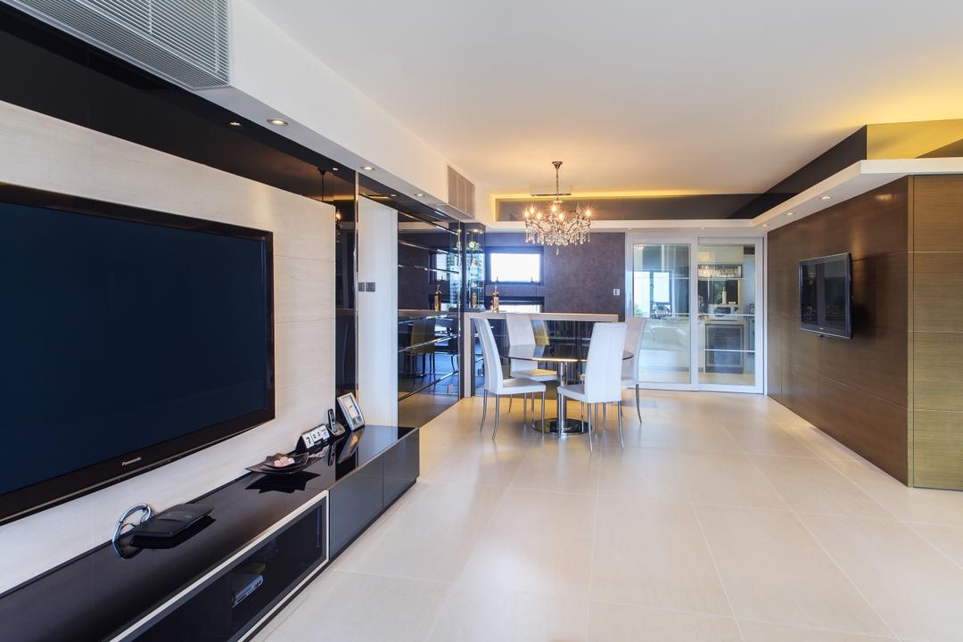 華景山莊, Homing Interior Design, 摩登, 客廳, 私家樓, Electronics, Lcd Screen, Monitor, Screen, Indoors, Interior Design