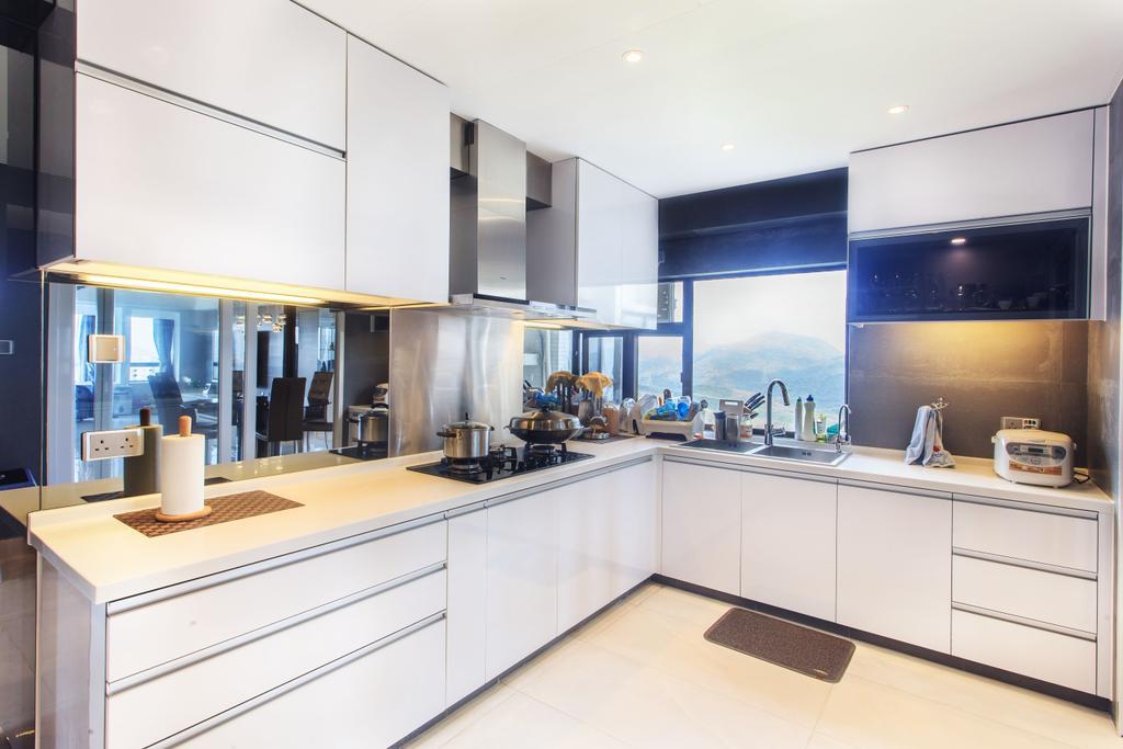 私家樓, 廚房, 華景山莊, 室內設計師, Homing Interior Design, Indoors, Interior Design, Room