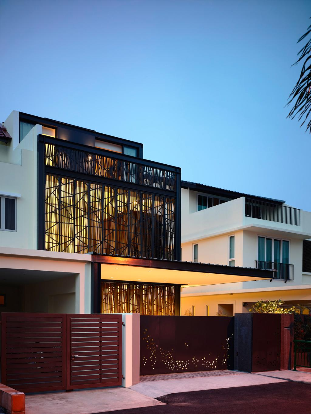 Contemporary, Landed, Bowmont Gardens, Architect, HYLA Architects, Building, House, Housing, Villa