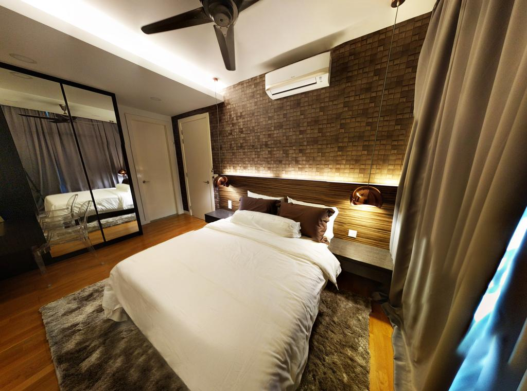 Contemporary, Landed, Bedroom, Desiran Bayu Kuala Lumpur, Interior Designer, EA Alam Reka, Bed, Furniture, Indoors, Interior Design, Room