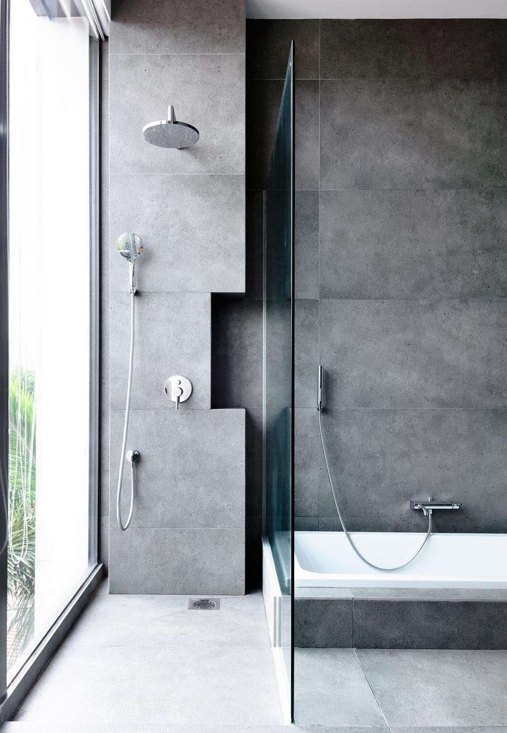 Contemporary, Landed, Bathroom, Eng Kong Gardens, Architect, HYLA Architects