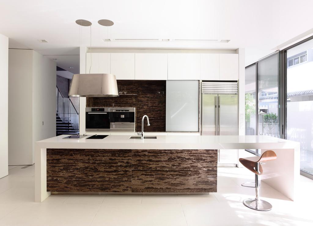 Modern, Landed, Kitchen, Faber Avenue, Architect, HYLA Architects, Indoors, Interior Design, Furniture