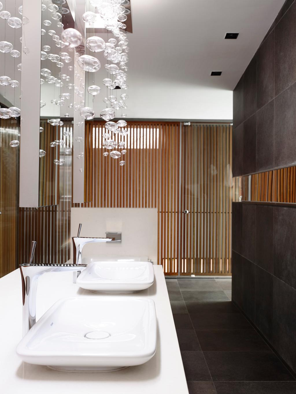 Modern, Landed, Faber Avenue, Architect, HYLA Architects, Bathroom, Indoors, Interior Design, Room, Chair, Furniture