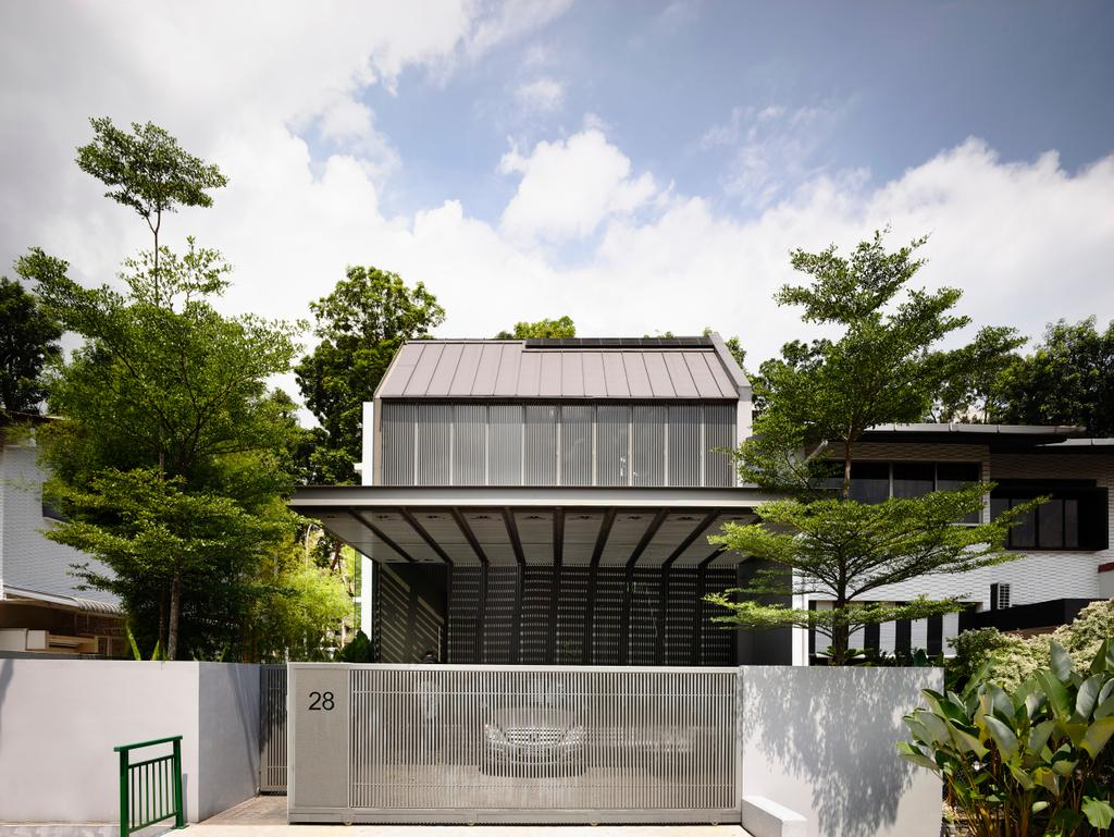 Modern, Landed, Faber Avenue, Architect, HYLA Architects, Flora, Plant, Tree