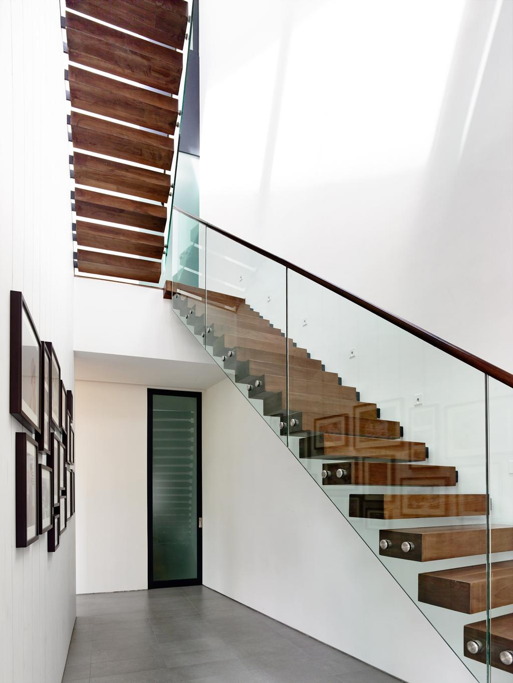 Contemporary, Landed, Faber Terrace, Architect, HYLA Architects, Banister, Handrail, Staircase, Lumber, Wood