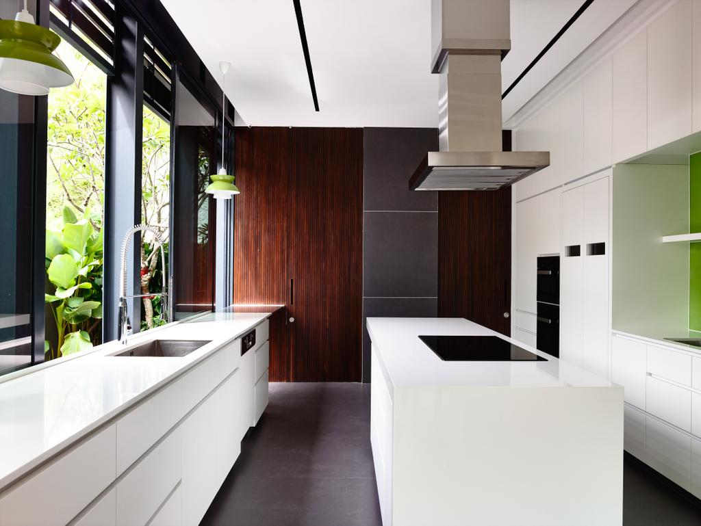 Contemporary, Landed, Kitchen, Faber Terrace, Architect, HYLA Architects, Furniture, Sideboard