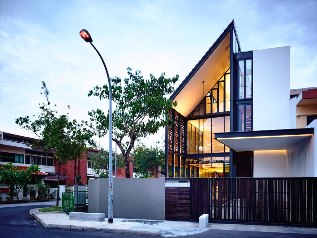 Contemporary, Landed, Faber Terrace, Architect, HYLA Architects, Flora, Jar, Plant, Potted Plant, Pottery, Vase, Building, House, Housing, Villa
