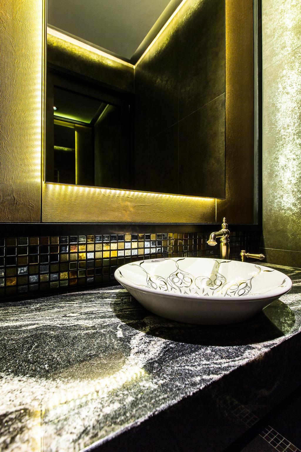 Summerhaus Office, Commercial, Interior Designer, Summerhaus D'zign, Contemporary, Bathroom, Bathtub, Tub