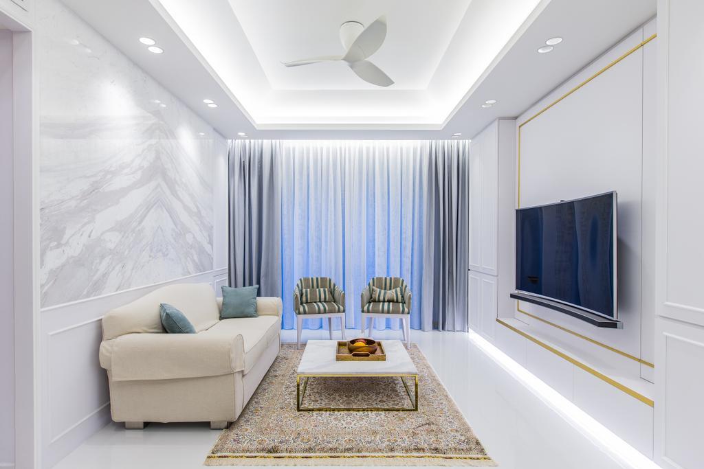 Modern, Condo, Living Room, The Tessarina, Interior Designer, Summerhaus D'zign, Indoors, Interior Design
