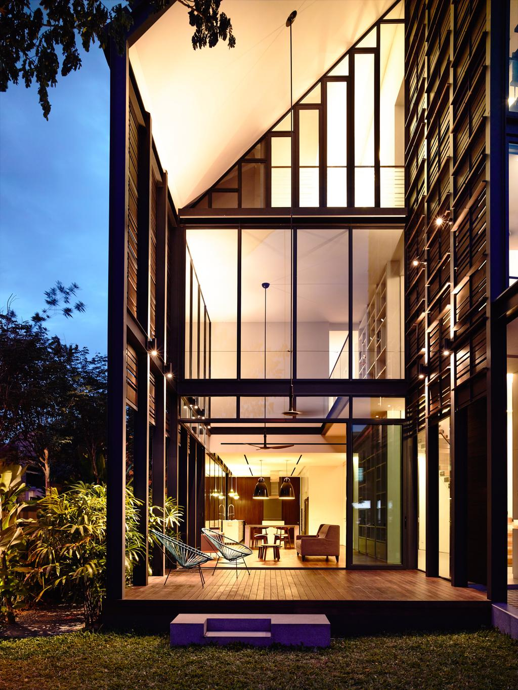 Contemporary, Landed, Faber Terrace, Architect, HYLA Architects, Arecaceae, Flora, Palm Tree, Plant, Tree