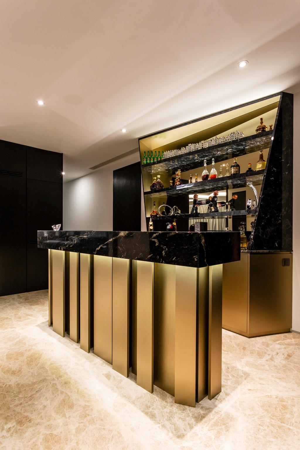 Modern, Condo, Living Room, Corals at Keppel Bay, Interior Designer, Summerhaus D'zign, Lighting, Appliance, Electrical Device, Oven