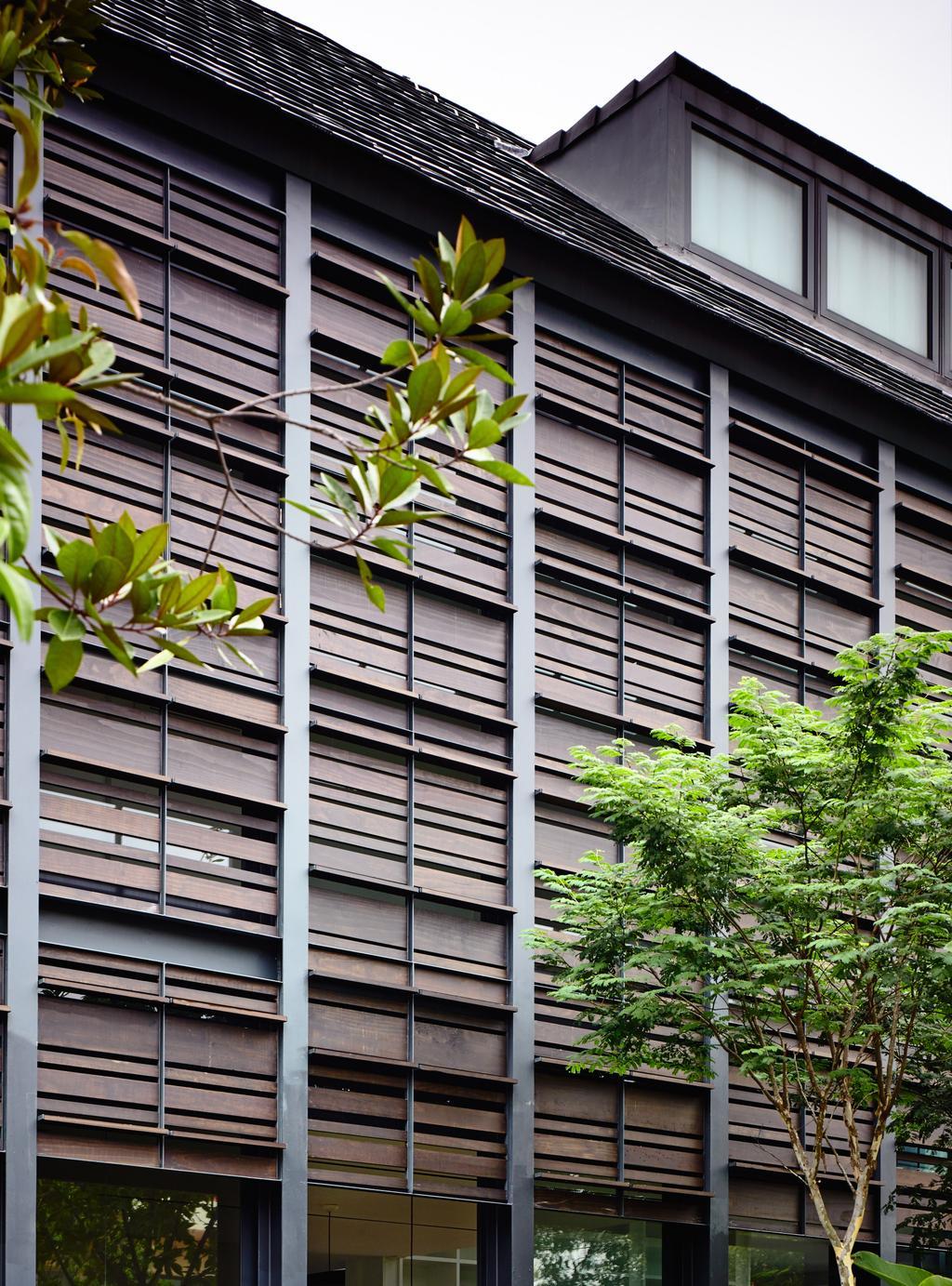 Contemporary, Landed, Faber Terrace, Architect, HYLA Architects, Flora, Plant, Fern