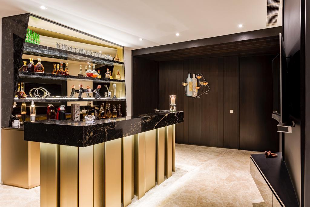 Modern, Condo, Living Room, Corals at Keppel Bay, Interior Designer, Summerhaus D'zign