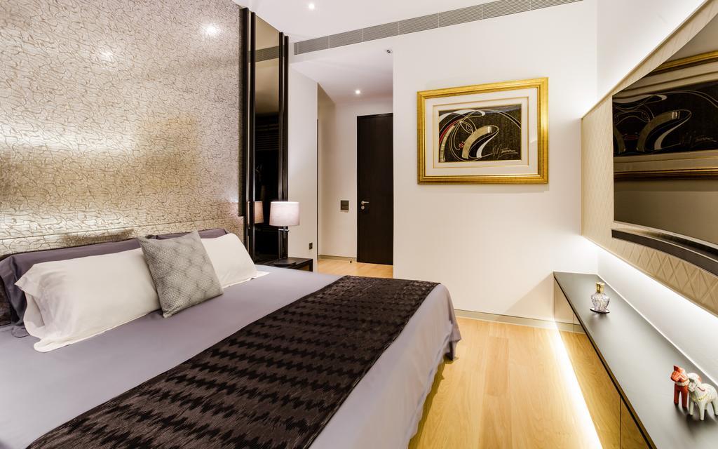 Modern, Condo, Bedroom, Corals at Keppel Bay, Interior Designer, Summerhaus D'zign, Emblem, Indoors, Interior Design, Room
