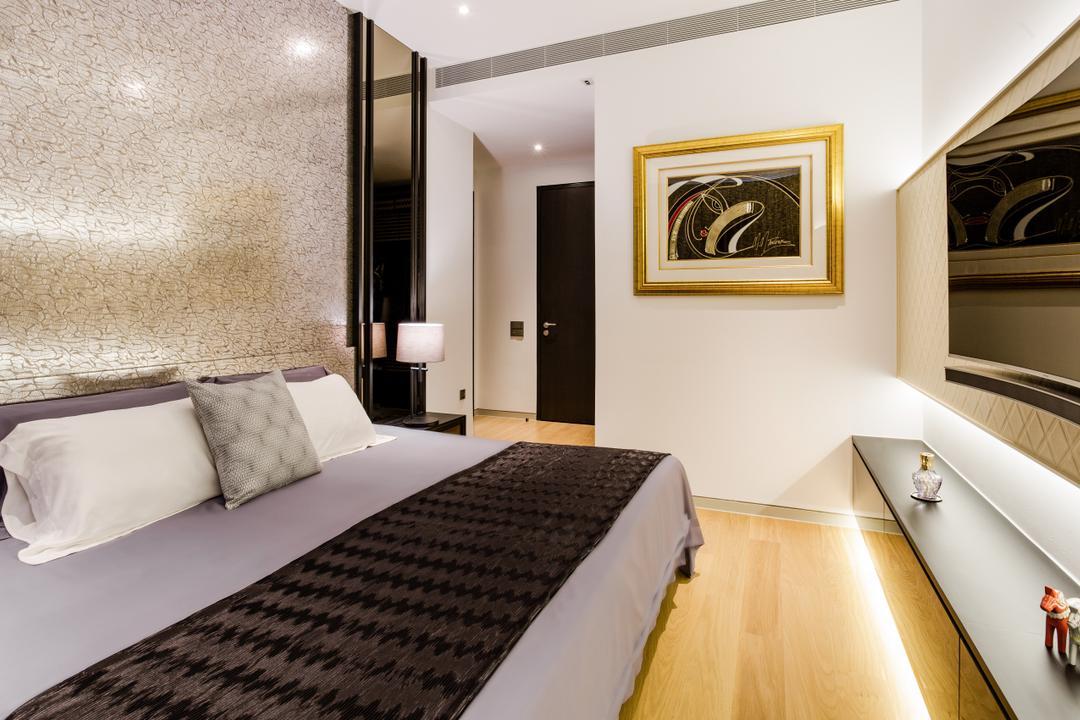 Corals at Keppel Bay, Summerhaus D'zign, Modern, Bedroom, Condo, Emblem, Indoors, Interior Design, Room