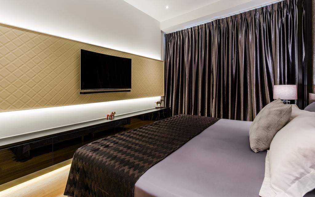 Modern, Condo, Bedroom, Corals at Keppel Bay, Interior Designer, Summerhaus D'zign, Indoors, Room