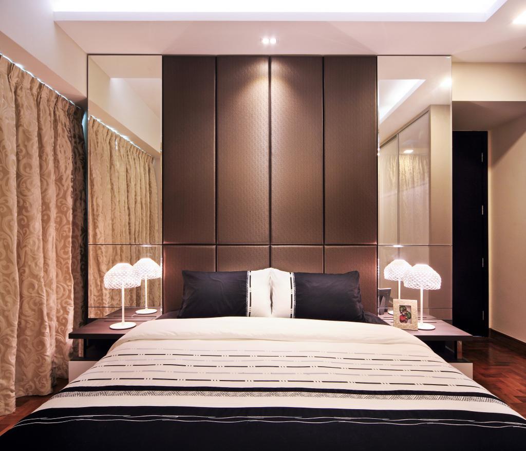 Modern, Condo, Bedroom, Maplewoods, Interior Designer, Summerhaus D'zign, Bed, Furniture