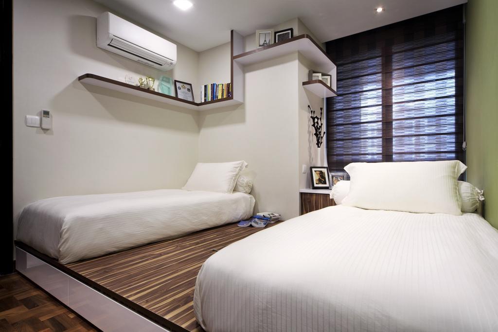 Modern, Condo, Bedroom, Maplewoods, Interior Designer, Summerhaus D'zign, Indoors, Interior Design, Room