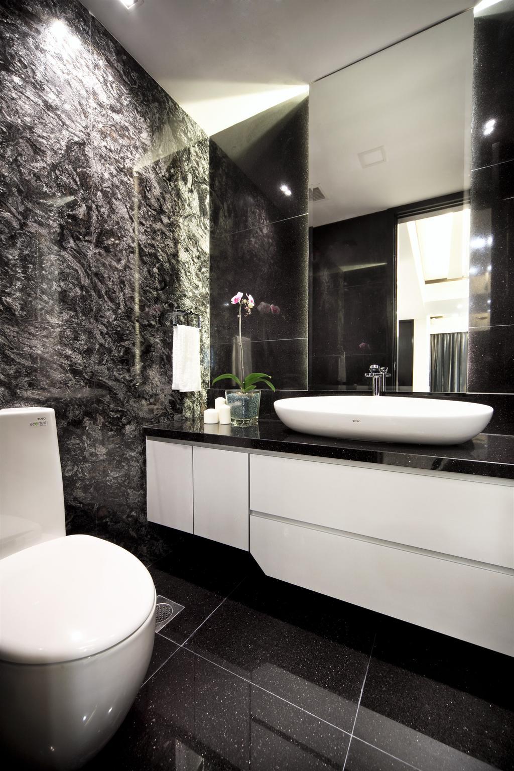 Modern, Condo, Bathroom, Maplewoods, Interior Designer, Summerhaus D'zign, Indoors, Interior Design, Room