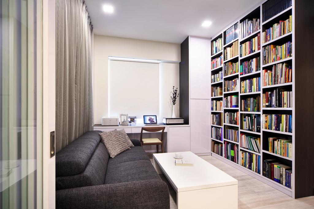 Modern, Condo, Study, Maplewoods, Interior Designer, Summerhaus D'zign, Sink