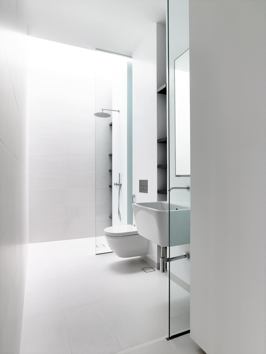 Contemporary, Landed, Bathroom, Greenbank Park, Architect, HYLA Architects, Indoors, Interior Design, Room, Tub