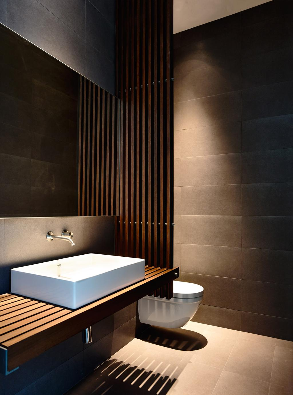 Contemporary, Landed, Bathroom, Greenbank Park, Architect, HYLA Architects, Indoors, Interior Design, Room