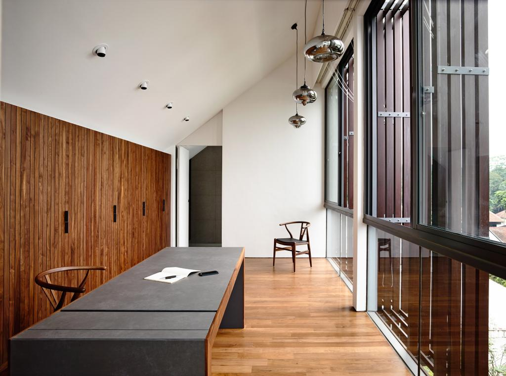 Contemporary, Landed, Greenbank Park, Architect, HYLA Architects, Flooring, Dining Room, Indoors, Interior Design, Room