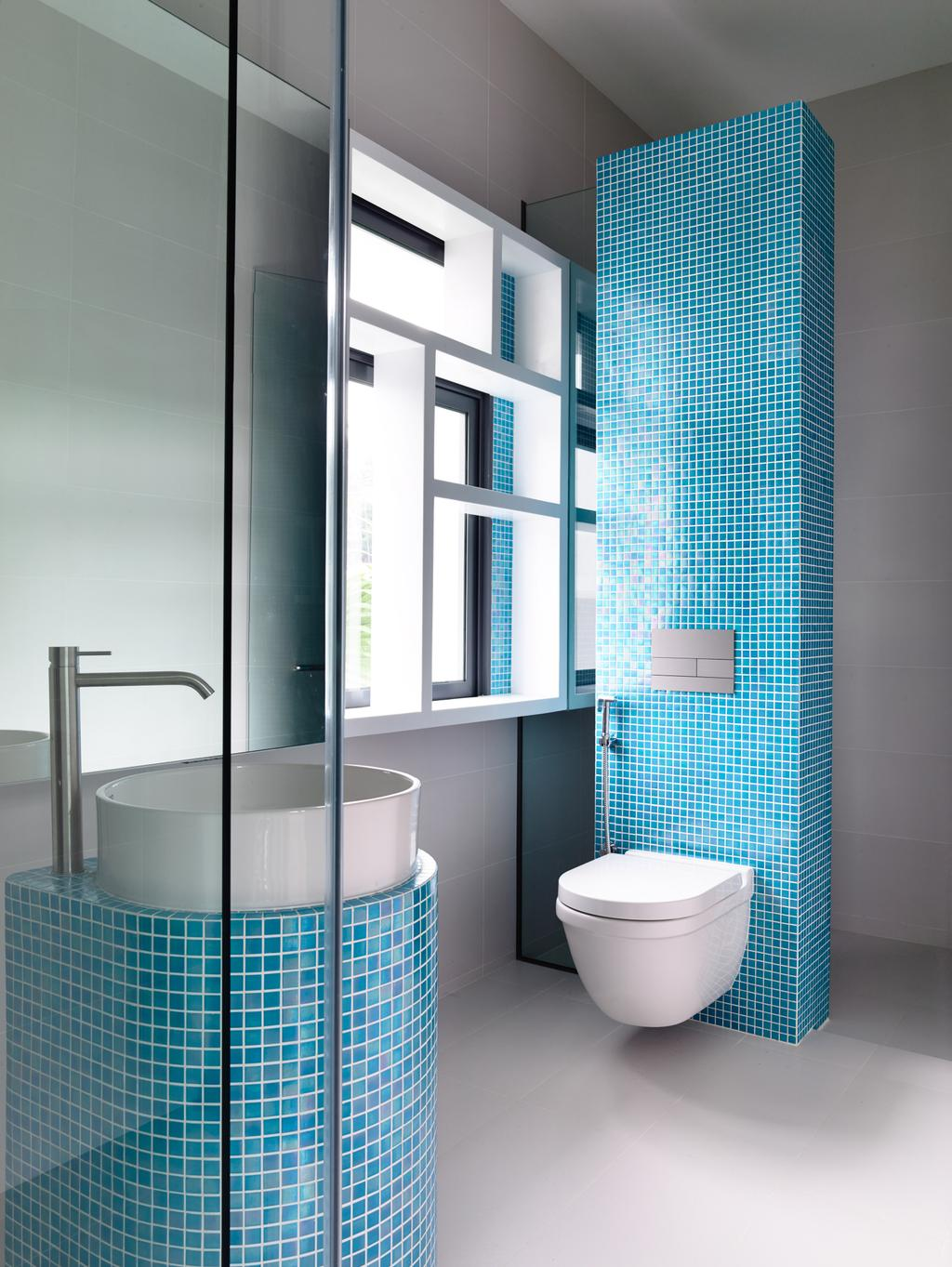 Contemporary, Landed, Bathroom, Greenbank Park, Architect, HYLA Architects, Indoors, Interior Design, Room