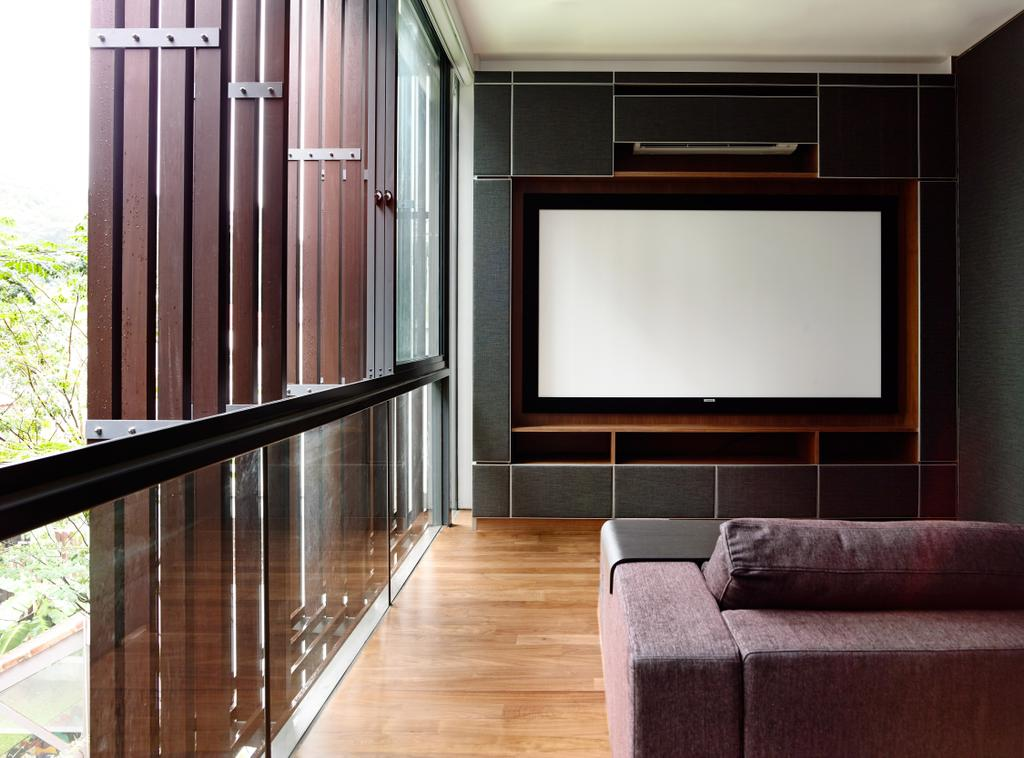 Contemporary, Landed, Greenbank Park, Architect, HYLA Architects, Couch, Furniture, Hardwood, Wood