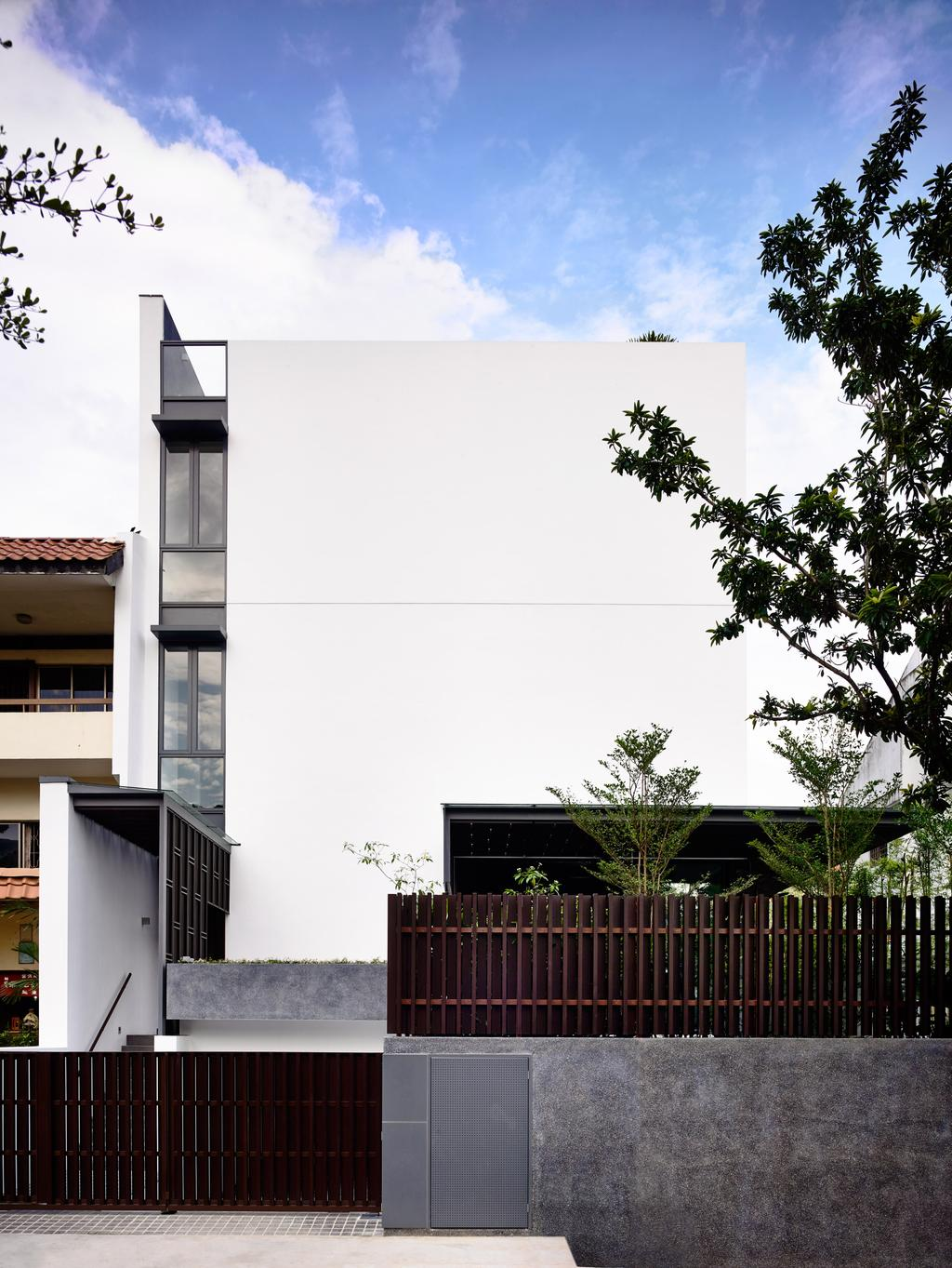 Contemporary, Landed, Greenbank Park, Architect, HYLA Architects, Roof, Tile Roof, Balcony, Arecaceae, Flora, Palm Tree, Plant, Tree