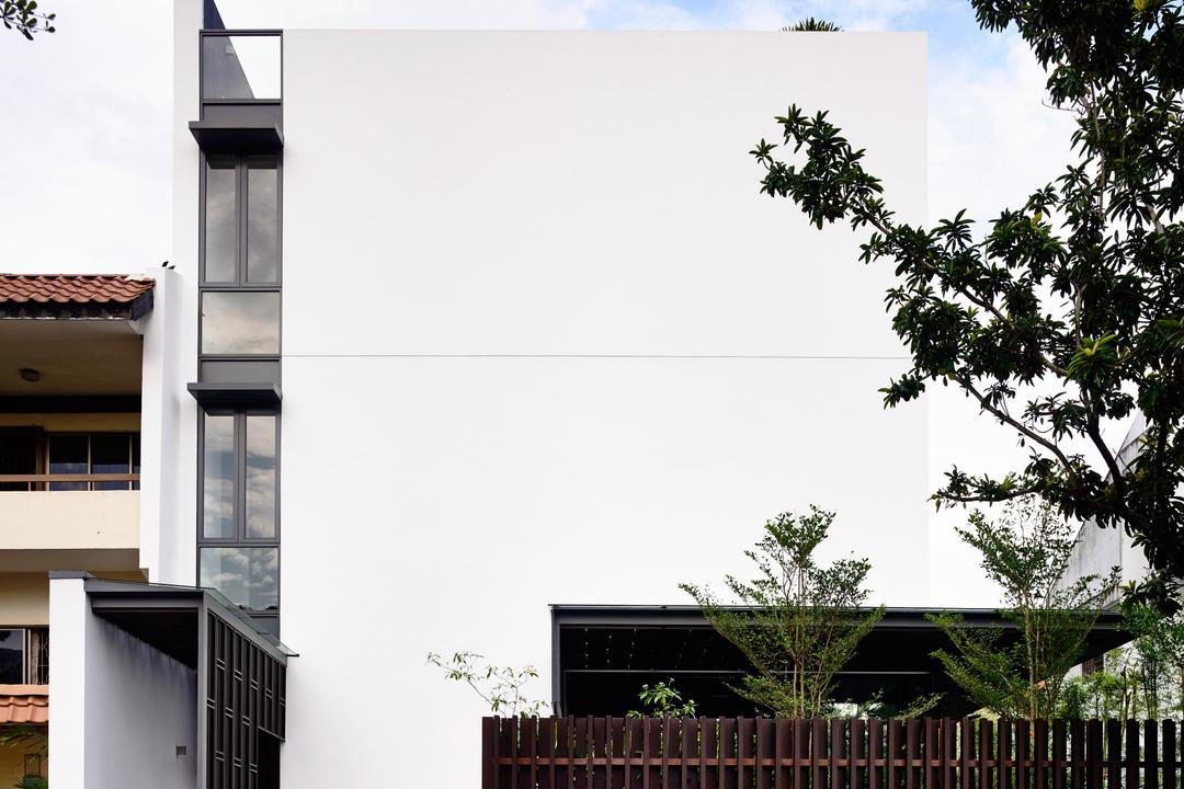 Greenbank Park, HYLA Architects, Contemporary, Landed, Roof, Tile Roof, Balcony, Arecaceae, Flora, Palm Tree, Plant, Tree