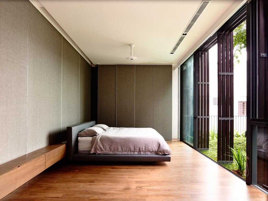 Contemporary, Landed, Greenbank Park, Architect, HYLA Architects, Bedroom, Indoors, Interior Design, Room