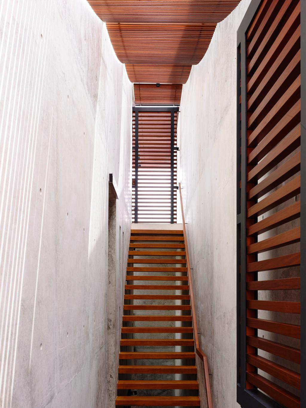 Contemporary, Landed, Belimbing Avenue, Architect, HYLA Architects, Curtain, Home Decor, Shutter, Window, Window Shade