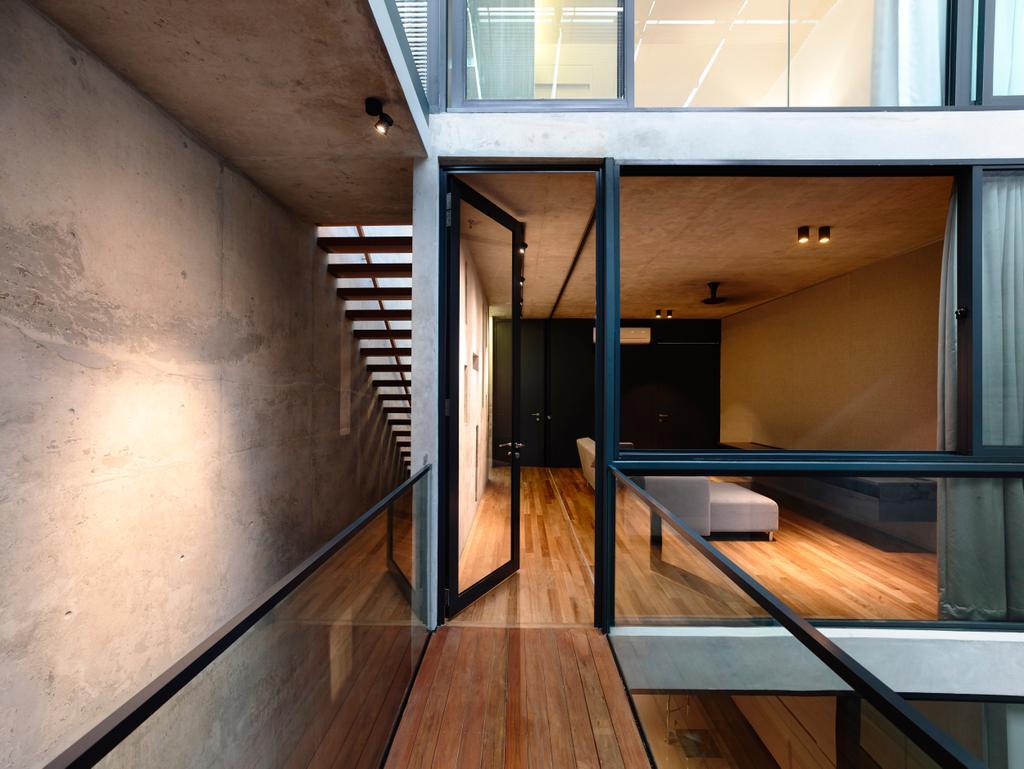 Contemporary, Landed, Belimbing Avenue, Architect, HYLA Architects, Flooring