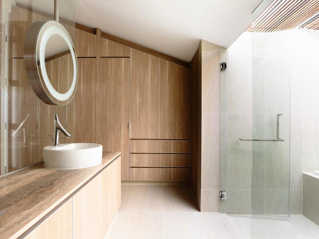 Contemporary, Landed, Bathroom, Belimbing Avenue, Architect, HYLA Architects, Indoors, Interior Design