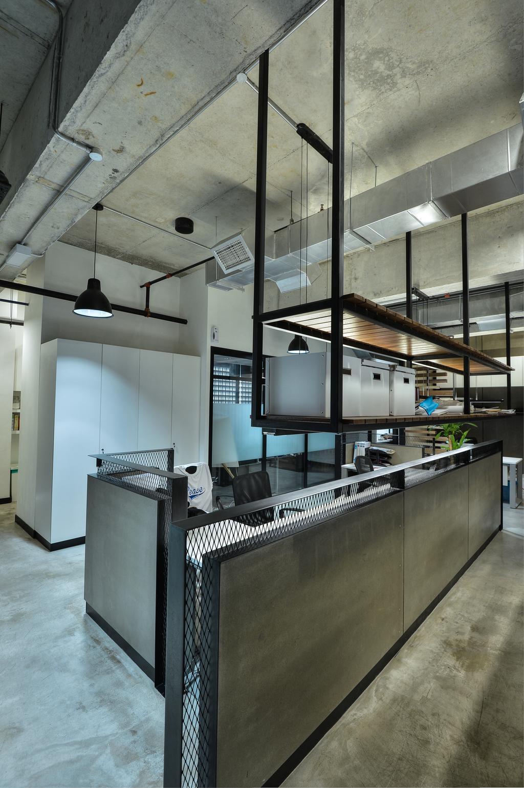 PJ Trade Centre, Damansara Utama, Commercial, Interior Designer, SQFT Space Design Management, Industrial, Minimalistic, Contemporary, Apartment, Building, Housing, Indoors, Loft